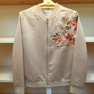 Forever 21 Jacket light gold color